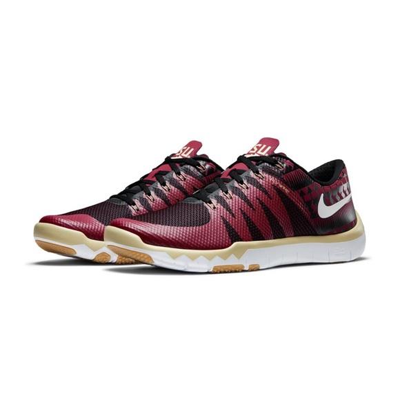 50f8ef3f1263 Rare FSU Nike Free Trainer 5.0 FlyWire Sneakers. M 5c3b6a483e0caa1628634b60